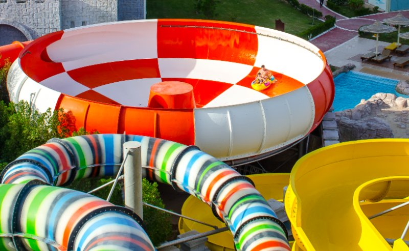 Family Slide Within The Aqua Park 3 of 16