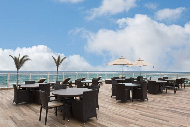 Enjoy Our Oceanfront Terrace Located On Our Second Floor. A Beautiful Venue For A Perfect Social Occasion Overlooking The Atlantic Ocean. Our Outdoor Terrace Is Available For Private Social Events Wedding Ceremonies Or Receptions. 6 of 13