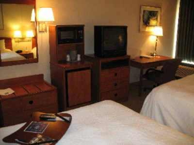 Every Guest Room Is Equipped With A Desk & Rolling Chair Microwave Fridge Coffee-Maker & Cordless Phone 3 of 11