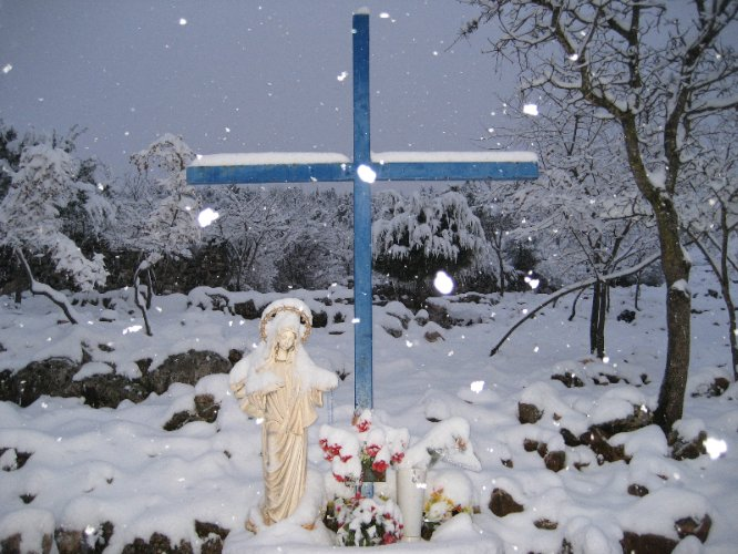 Blue Cross In Medjugorje 26 of 31