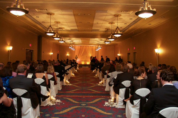 Comstock Jr Ballroom-Wedding Ceremony 13 of 17