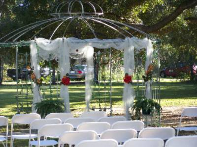 Wedding Gazabo At Woodridge B&b Slidell 5 of 11