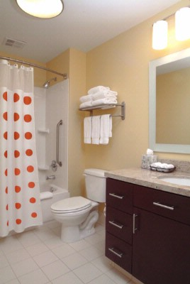 Our Large Bathrooms Have Extra Storage Space For You! 8 of 15