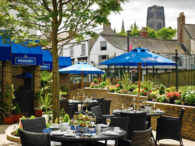 Our Pommery Champagne Terrace Provides The Perfect Opportunity To Relax And Unwind Whilst Enjoying The Views Of The Castle And Cathedral. Open From 12:01 P.m. Daily Its A Great Place To Enjoy Light Bites And Afternoon Teas 13 of 19