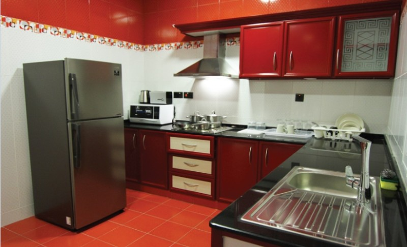 Fully Equipped Kitchen Of Remas Hotel Suites 15 of 18