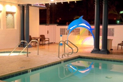 Night View Of Outdoor/covered Pool 8 of 10