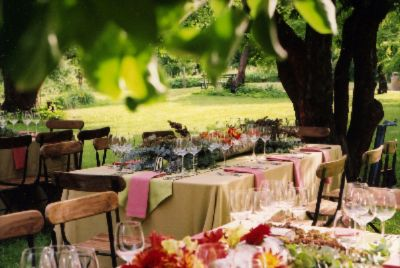 Wedding Reception In The Orchard 6 of 10