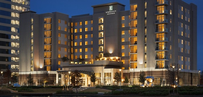 Embassy Suites The Woodlands at Hughes Landing 1 of 14