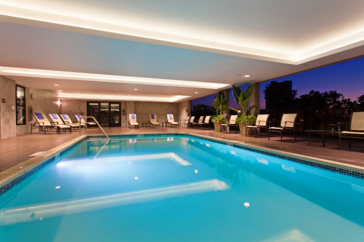 Indoor Pool With Open Air Access 10 of 15