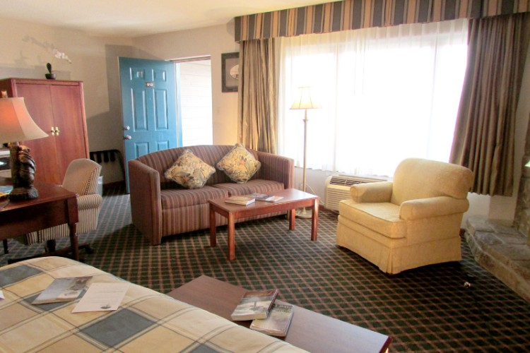 Sunday Best Jr. Suite With King Bed Sofa Sleeper Fireplace Jacuzzi & Two Vanities 15 of 31