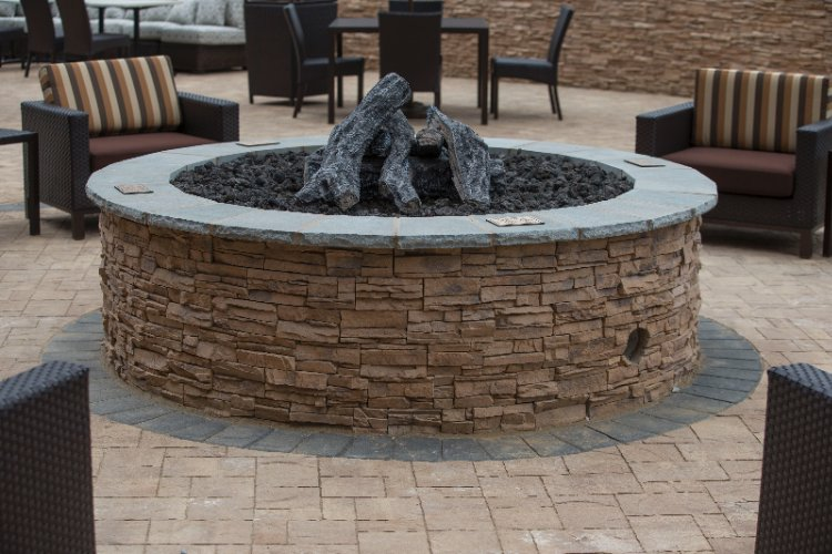 Patio Gas Fire Pit 13 of 17