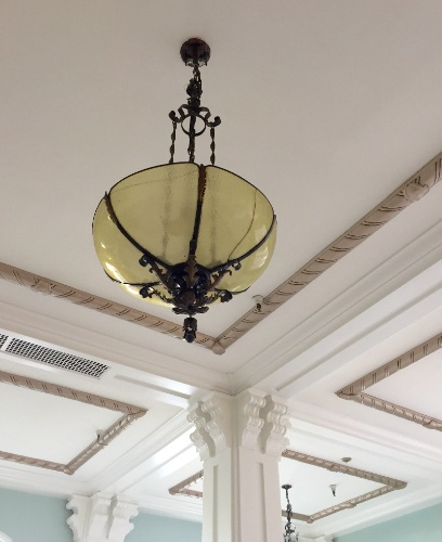 Goldman Ballroom Original Chandelier And Architectural Detail 7 of 21