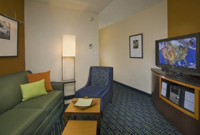 Suite Living Area: Whether You Want To Stay Productive Or Just Relax Our Spacious Suites Offer The Perfect Environment With Plenty Of Room A Well-Lit Work Area And Complimentary Wireless High-Speed Internet Access. This Photo Is A Representation Of 5 of 5