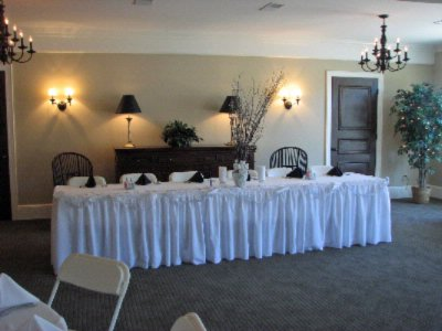 Section Of Carolina Room Set Up For Wedding Reception 5 of 9