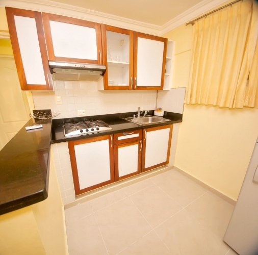Kitche Of Our 3 Bedrooms Apartment Suite Kitchen At Rig Hotel Boutique Puerto Malecon 8 of 11