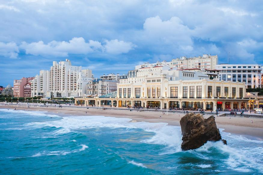 Ocean View Room Mercure Le President Biarritz 2 of 13