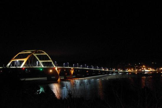 Night View Of The Alsea Bay Bridge 11 of 16