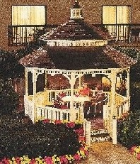 Courtyard Gazebo 3 of 5