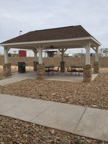 Enjoy West Texas In Our Outdoor Gazebo Area With Grill 3 of 15