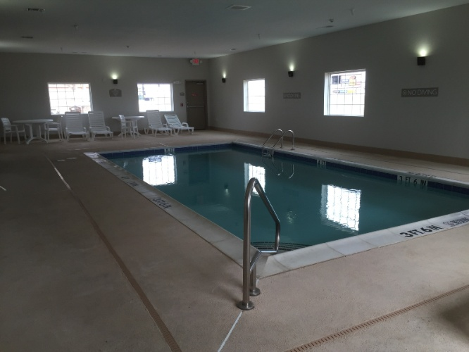 Escape The Heat In Our Indoor Swimming Pool 5 of 15