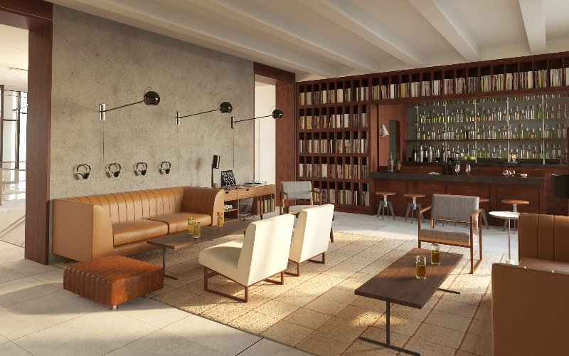The Lounge Located On The Second Floor 6 of 8