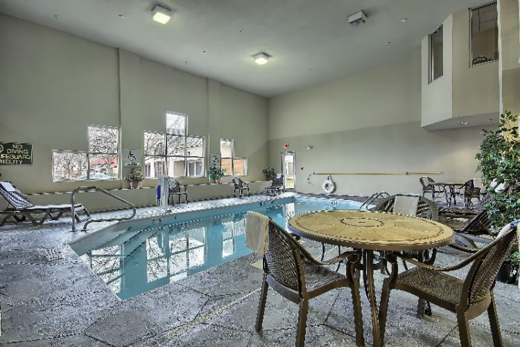 Indoor Heated Pool With Seating 12 of 16