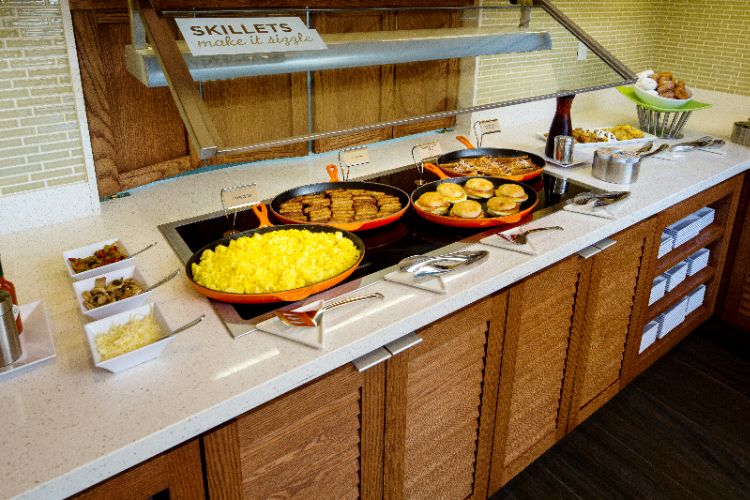 Complimentary A.m. Kitchen Skillet™ Breakfast Buffet Served Daily 13 of 25