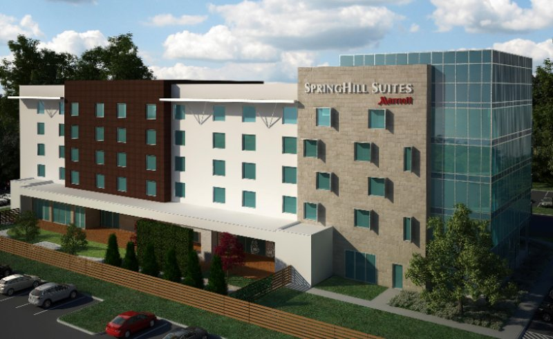 Springhill Suites Fort Worth Fossil Creek Exterior Rendering 3 of 4