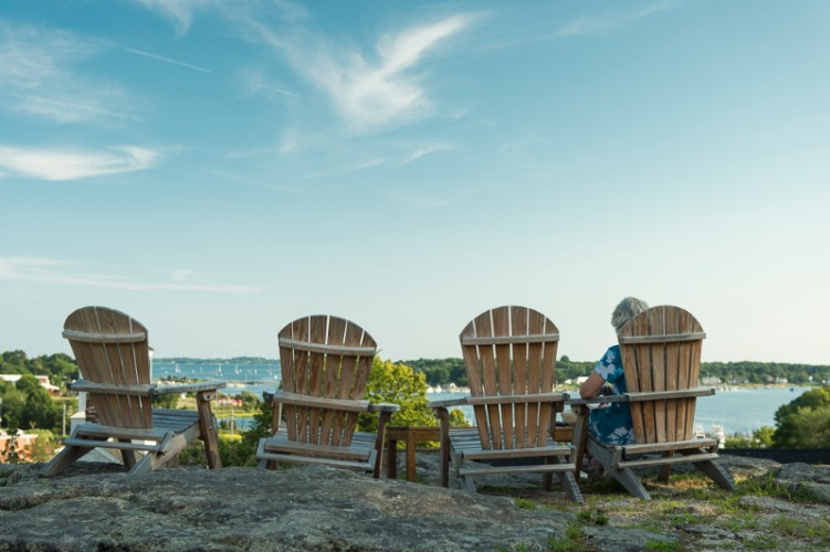 Relax In Our Adirondack Chairs 6 of 8