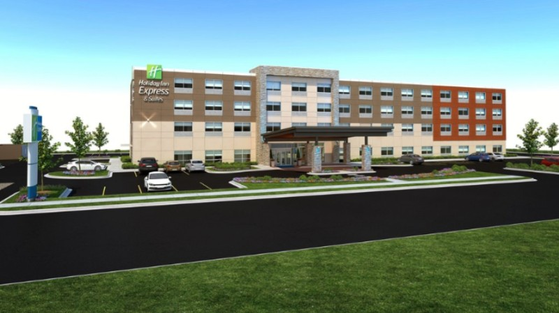 The Brand New Holiday Inn Express & Suites Omaha -Millard Area 2 of 4