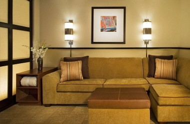 Standard Guest Room-Pull-Out Queen-Sized Sleeper Sofa 8 of 10