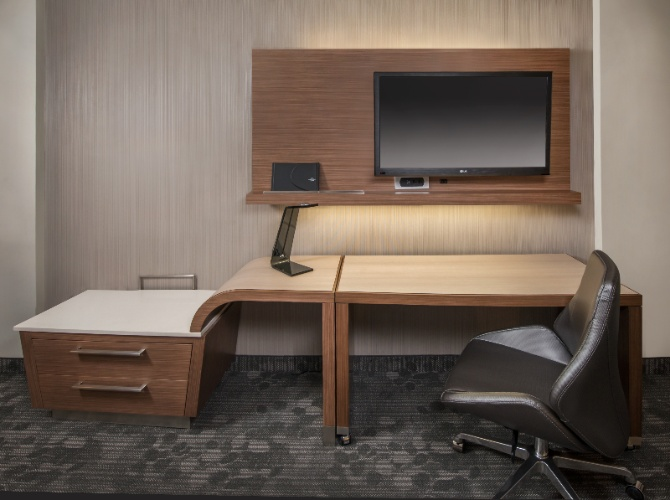 Courtyard Desk Is Available In All Guest Rooms 3 of 8