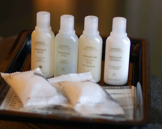 Hotel Room Amenities -Aveda Toiletry Set 16 of 31