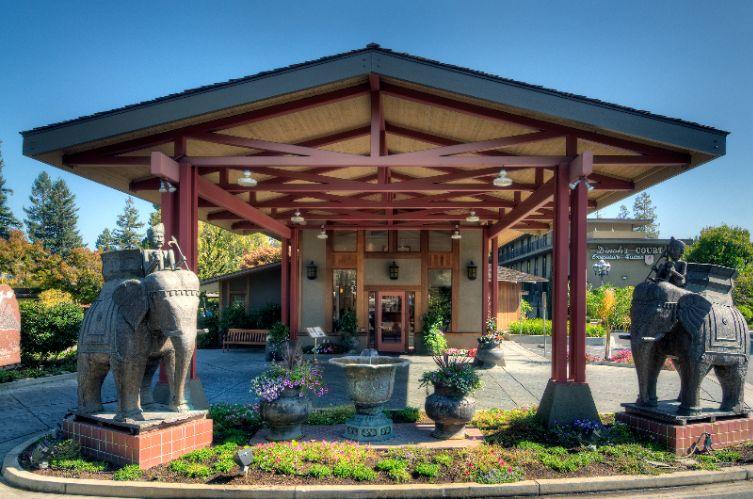 Dinah S Garden Hotel Palo Alto Palo Alto Ca 4261 El Camino Real