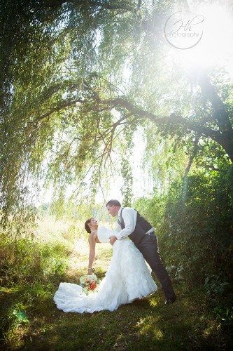Bride & Groom Weeping Willow 18 of 30