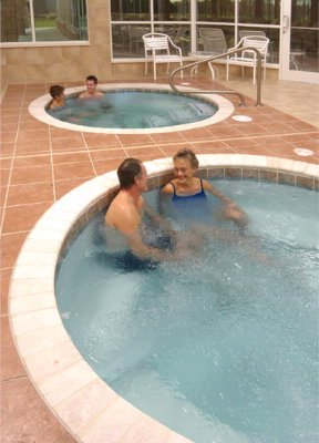 Two Indoor Whirlpools 12 of 28