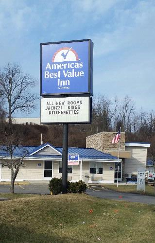 Americas Best Value Inn St Clairsville Oh 51260 National