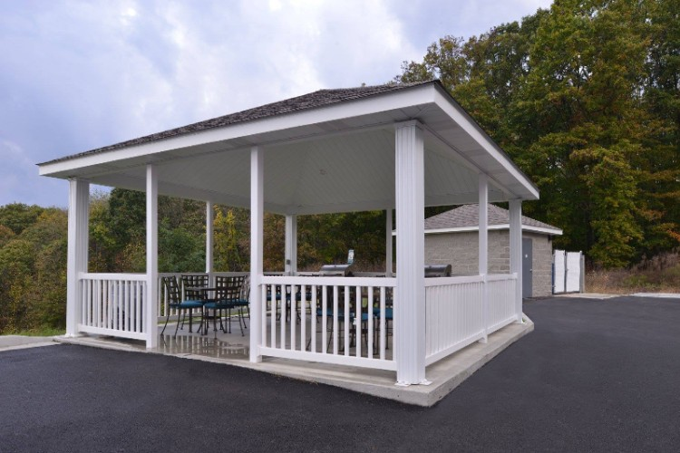Gazebo With Seating And Grills 5 of 17