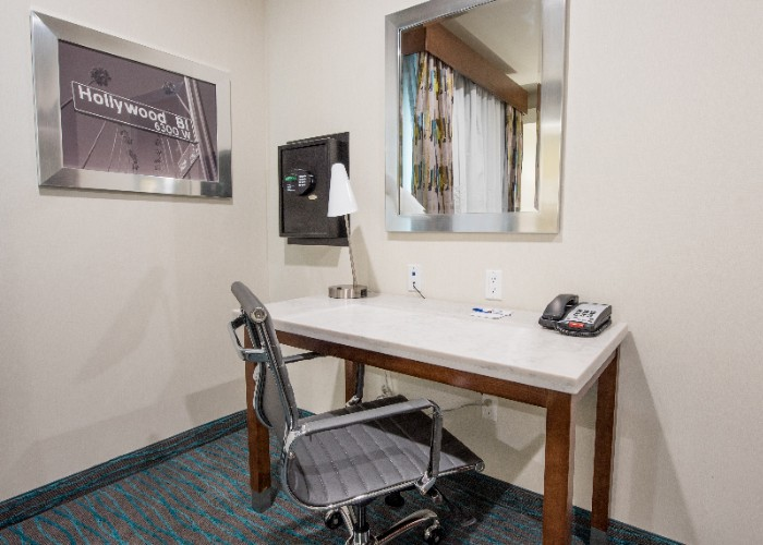Guest Room Amenity: Ergo Chair/work Desk/safe 15 of 25