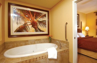 Some Villas Feature Relaxing Whirlpool Tubs. 3 of 12