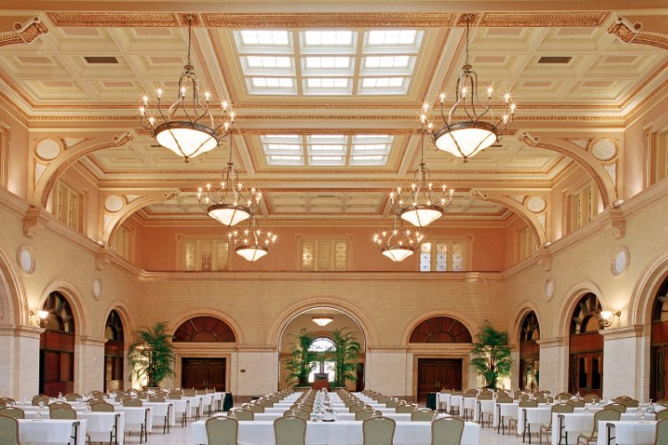 The Great Hall And Its Banquet Space Feature The Architecture And Marble From The Original Depot Building. 8 of 11