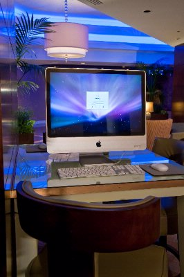I-Mac Computers In Lobby 20 of 20