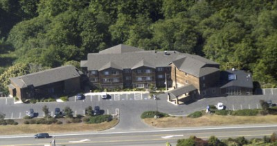 Aerial View Of Mendocino Coast Hotel 3 of 6