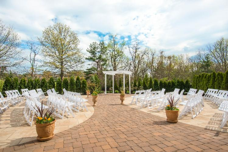 Outside Wedding Ceremony Space 17 of 21