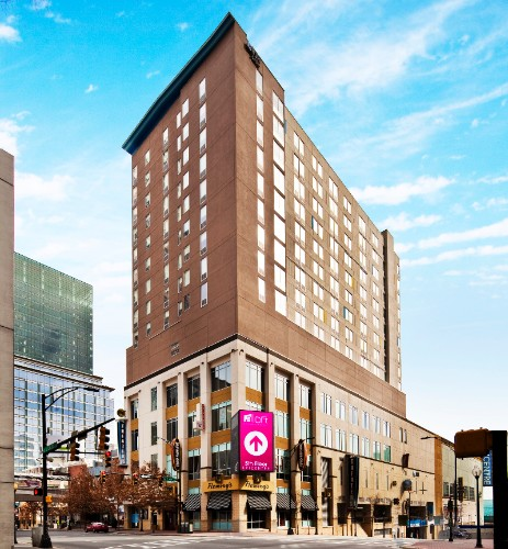 Aloft Charlotte Uptown At The Epicentre 210 East Trade St Nc 28202