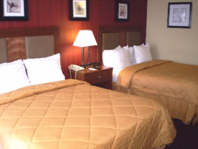 Comfort Inn Riverfront Double Bedded Room