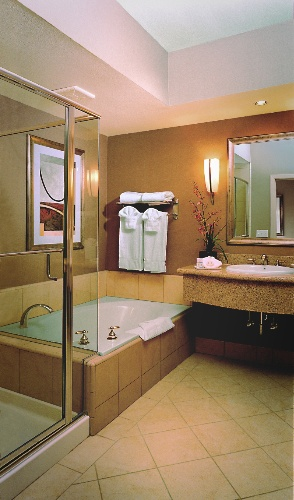 Large Guest Bathroom With Soaking Tub Standard 7 of 15