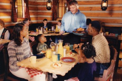 Enjoy A Hearty Family-Style Breakfast At Our Lumber Jack\'s Cook Shanty Restaurant. 5 of 11