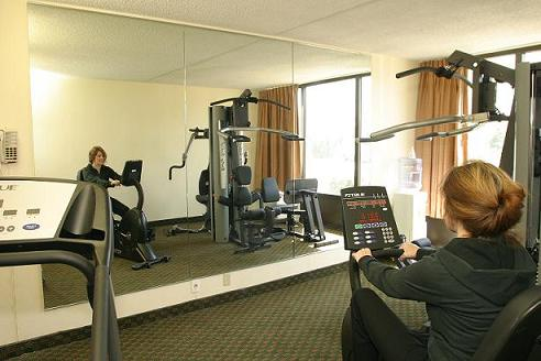 Exercise Room With Weights 6 of 6