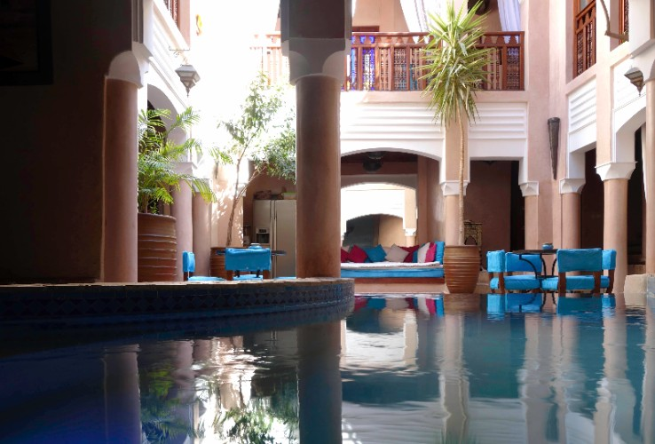 Riad Turquoise 1 of 7